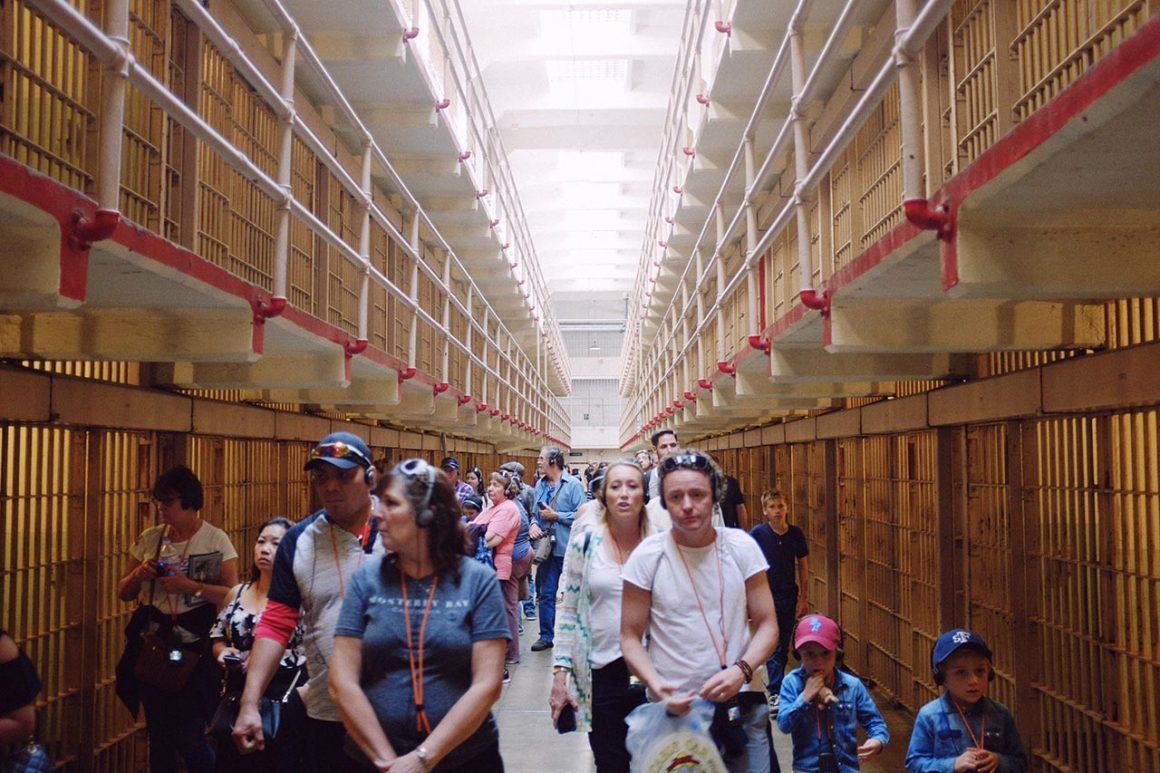 Alcatraz Island prison cells