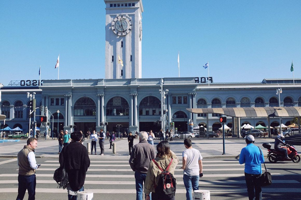 Ferry Building Marketplace in San Francisco