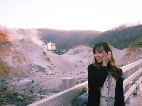 Hell Valley in Noboribetsu Hokkaido